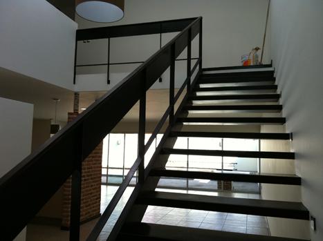 Herreria pasamanos escaleras for Fotos de escaleras de herreria